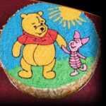 tort dzieci sowa