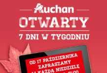 Auchan Osowa Gdańsk otwarty w niedziele
