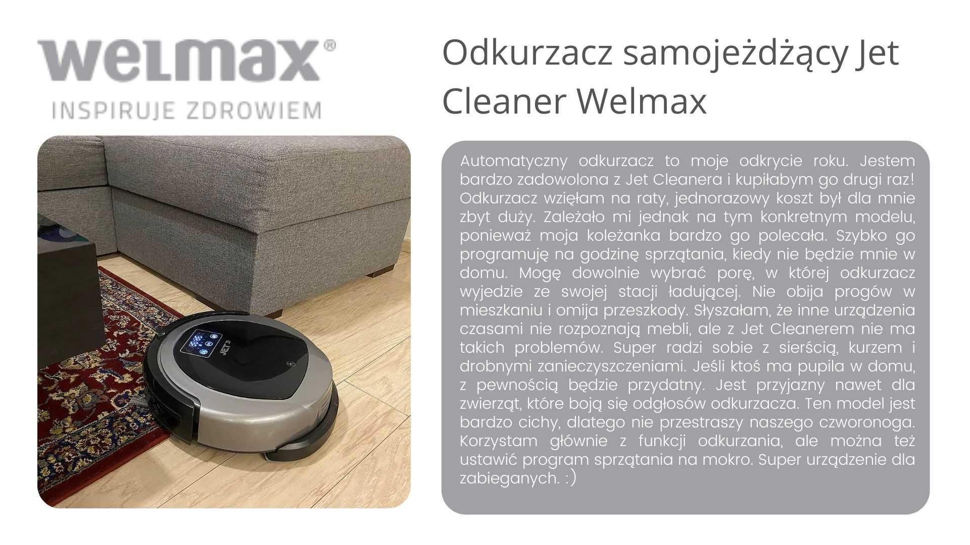 Jet Cleaner Welmax opinie