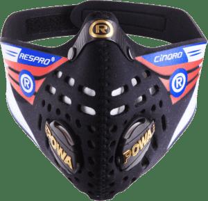 Maska antysmogowa Cinqro Black Respro