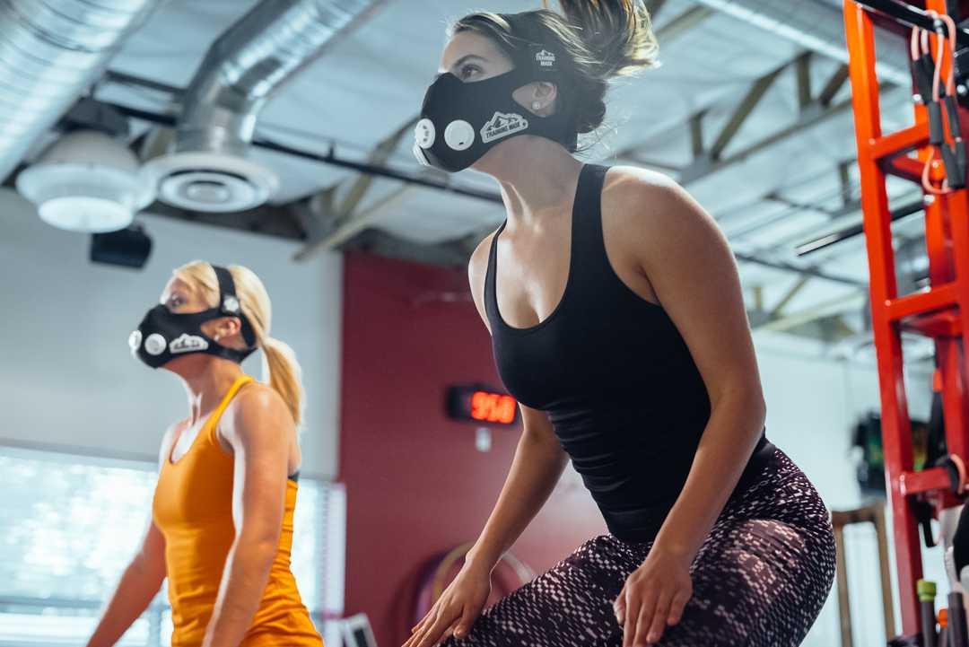Maska do ćwiczeń training mask