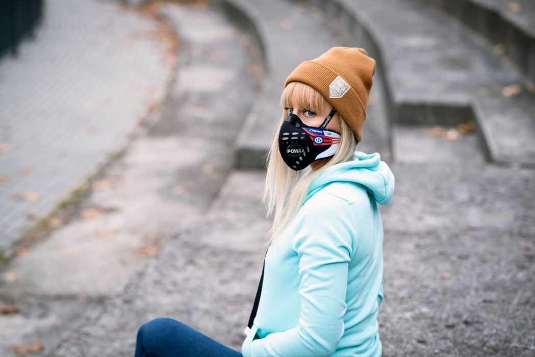 Maska antysmogowa na rower Respro