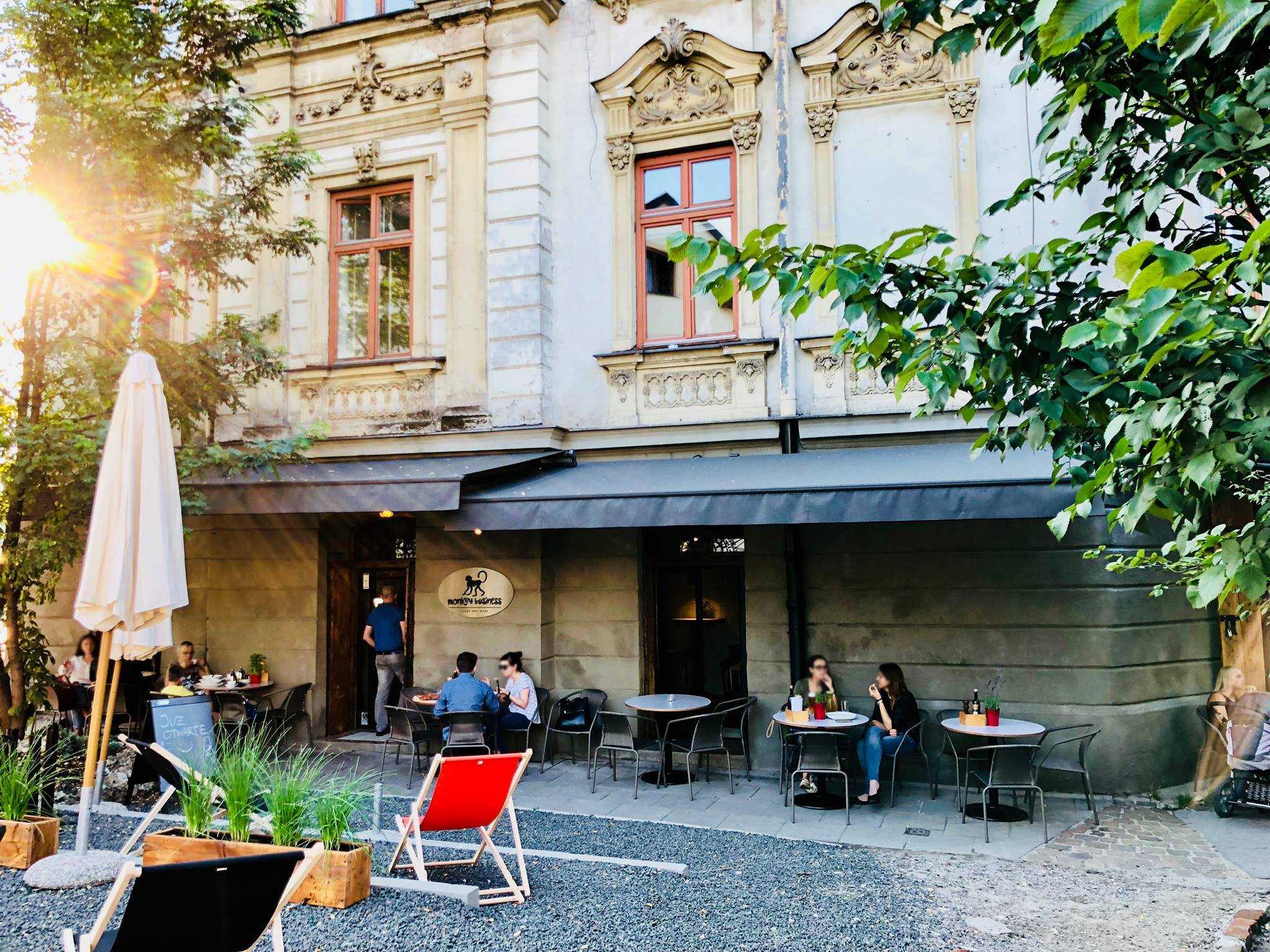 Monkey business kraków restauracja włoska podgórze