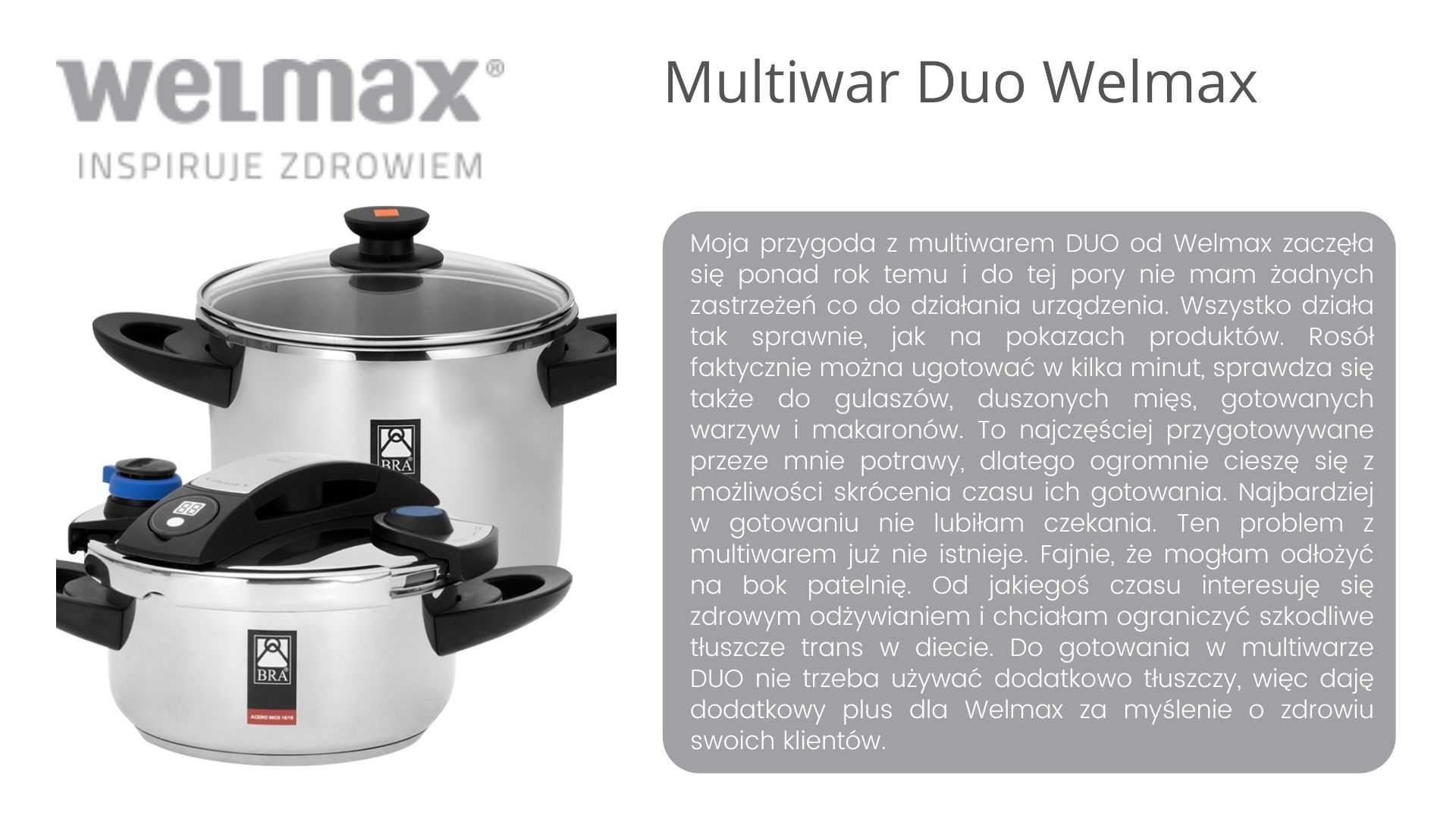 Multiwar DUO Welmax opinie