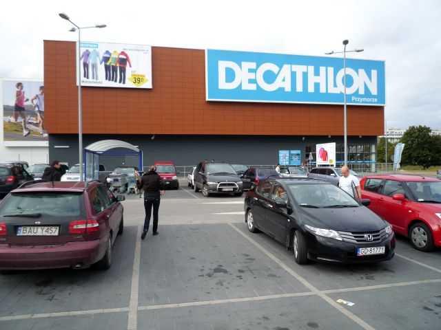 decathlon gdańsk zamknięty