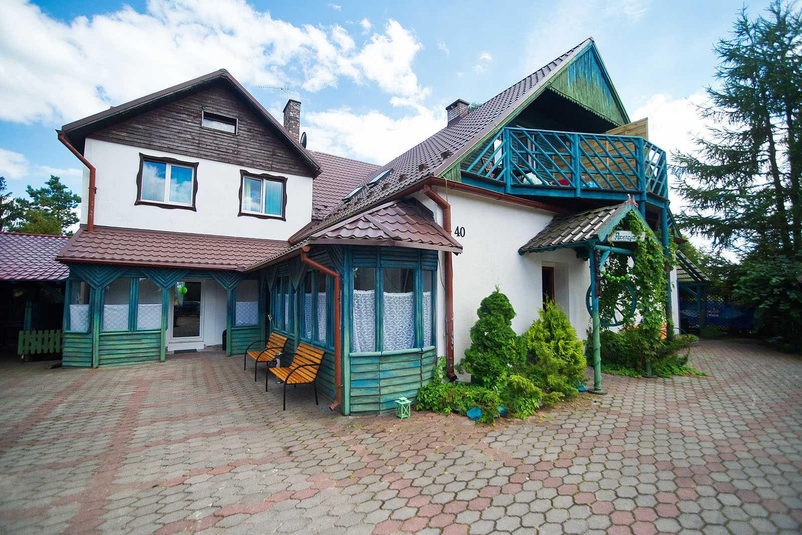 Pensjonat na Kaszubach Wdzydze ośrodek wypoczynkowy Mięta i Woda