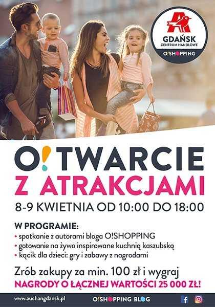 otwarcie auchan gdansk