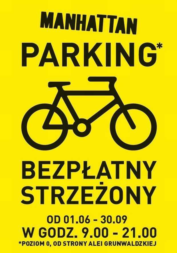 bezpłatny parking rowerowy