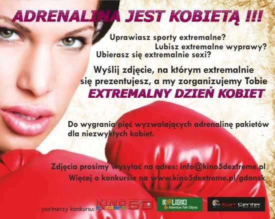 extremalny dzień kobiet galeria przymorze gdańsk