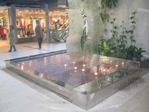 fontanna w manhattanie