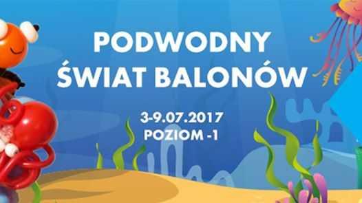 galeria baltycka podwodny swiat balonow