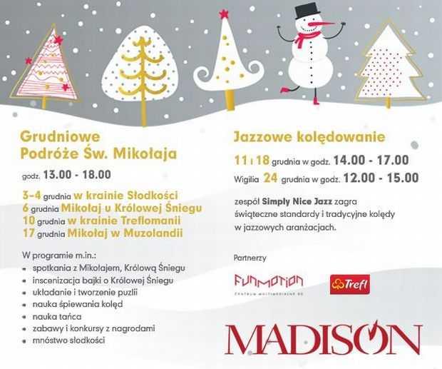 galeria handlowa madison gdańsk mikołajki 2011