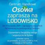 Lodowisko Gdańsk, parking CH Osowa
