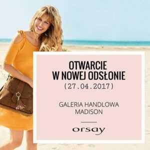 madison orsay promocje