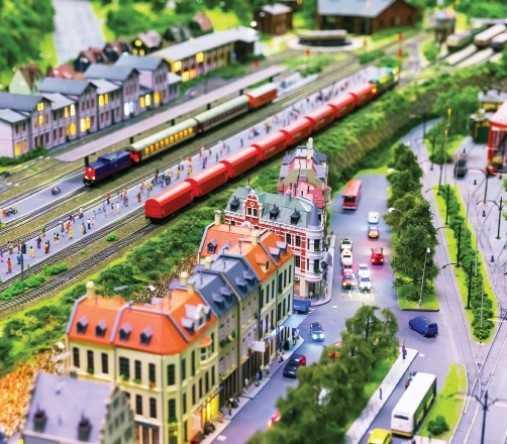 makieta kolejowa galeria bałtycka gdańsk