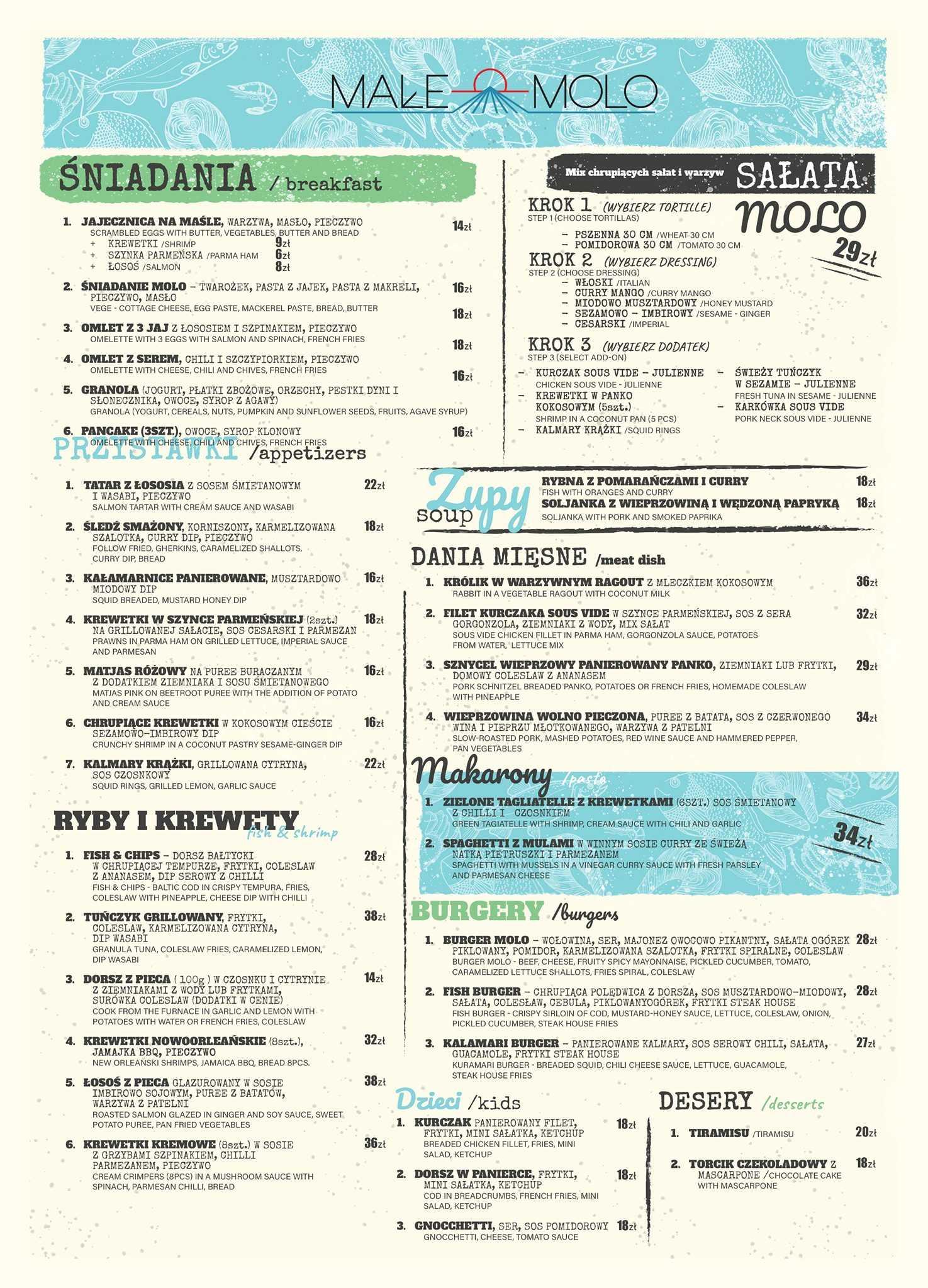 male molo menu