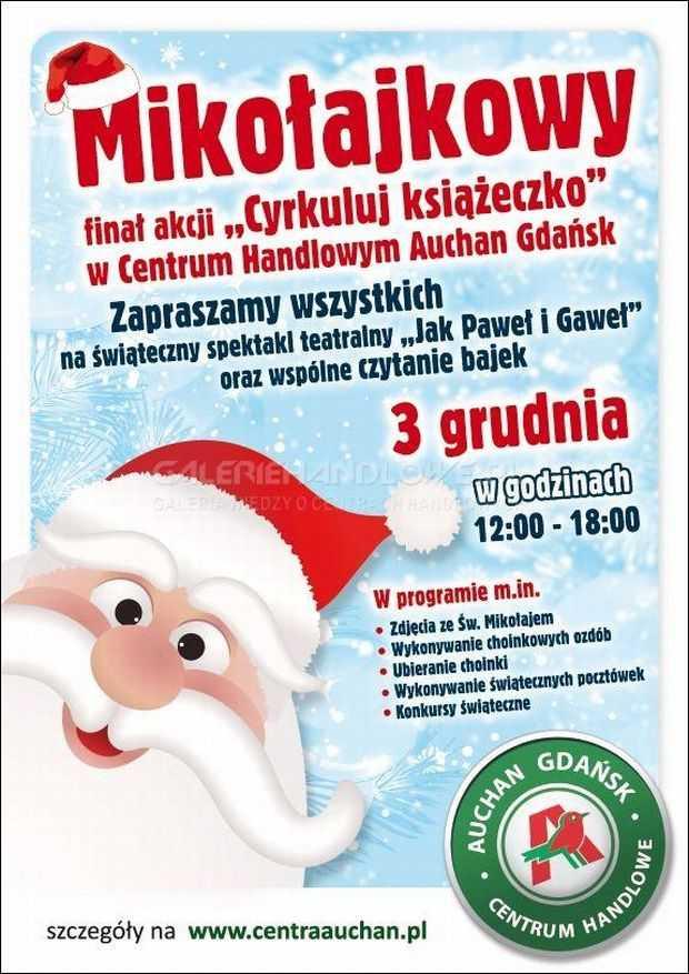 mikołajkowy finał akcji auchan gdańsk