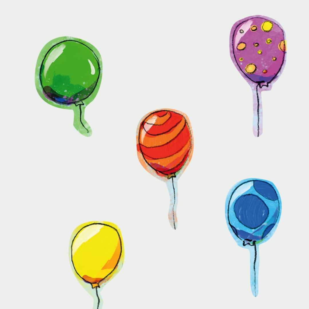 naklejki baloniki dla dzieci sklep bobom (1)