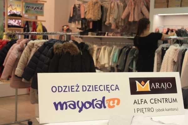 oferta Broel ubrania dziecięce MARAJO BUTIK MAYORAL GDAŃSK ALFA CENTRUM