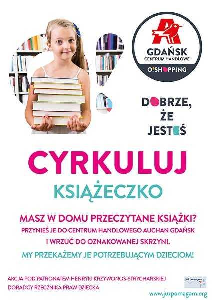 zbiorka ksiazek dla dzieci auchan gdansk 2016