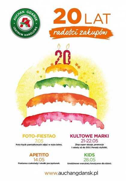 20 lecie auchan gdansk