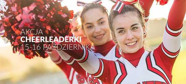 akcja cheerleaderki alfa centrum gdansk