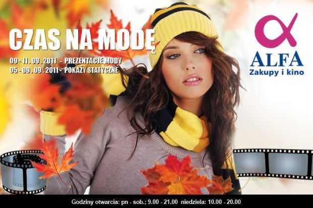 czas na mode w alfa centrum