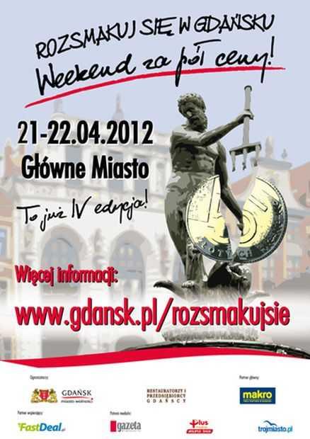 weekend za pol ceny gdansk 2012