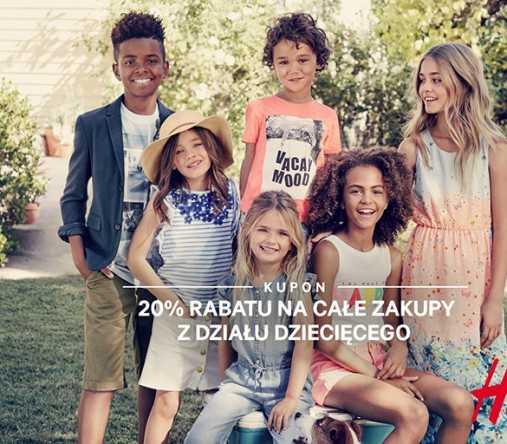 hm promocja dzial dzieciecy galeria baltycka