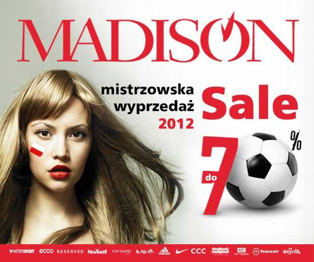 centrum handlowe madison gdańsk wyprzedaże 2012