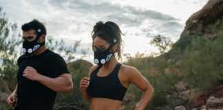 maska wydolnościowa training mask 1
