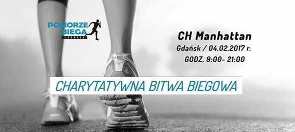 charytatywna bitwa biegowa manhattan gdansk