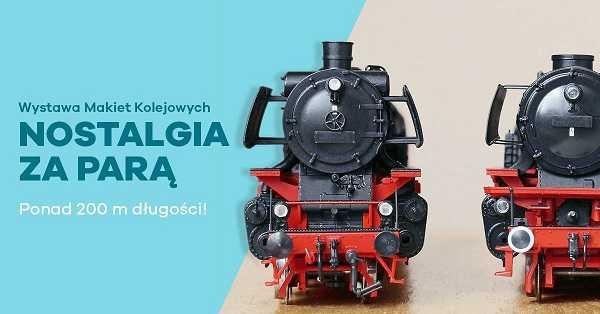 wystawa makiet kolejowych galeria metropolia